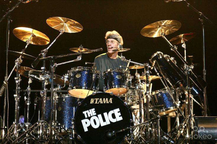 1952, Born on this day, American musician, multi-instrumentalist and composer Stewart Copeland best known as the drummer for The Police and for his film music soundtracks. Also a member of Curved Air, (1971 UK No.4 single 'Back Street Luv'). The Police scored the 1983 UK & US No.1 single 'Every Breath You Take' plus four other UK No.1 singles.