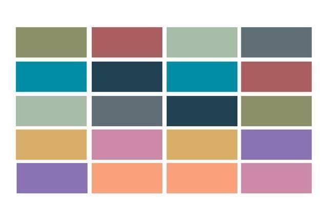 Los 10 colores de moda para el otoño invierno 2015 -16 y cómo combinarlos
