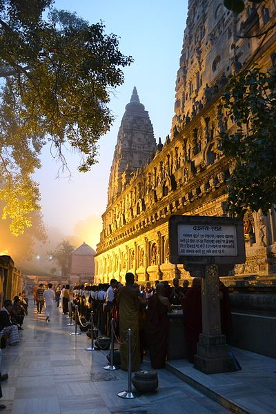 Bodh Gaya, India- I loved it, a magical place, charming and full of life and spirituality- Lord Buddha attained Nirvana here