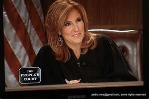 You would be lucky to get Judge Milian (Peoples Court) as your small claims judge!