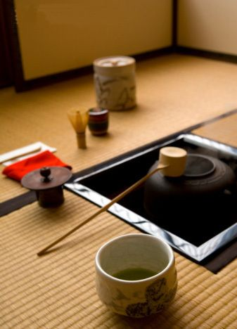 Japanese Tea Ceremony....I have all the stuff to try this....wonder when I'll get around to it