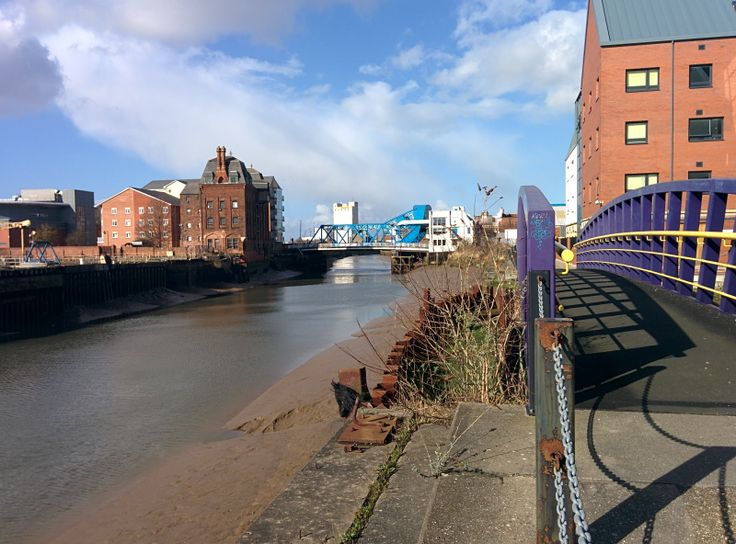 River Hull in city centre