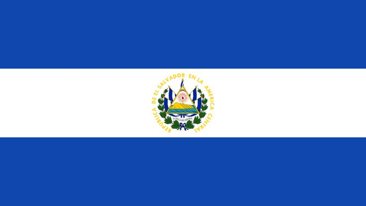 Flag of El Salvador - El Salvador -