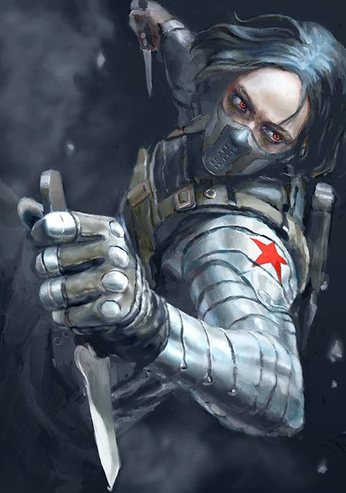 ArtStation - winter soldier, Ar Siu