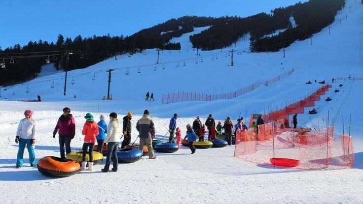 King Tubes Snow Tubing Park. #JacksonHole #snowtubing