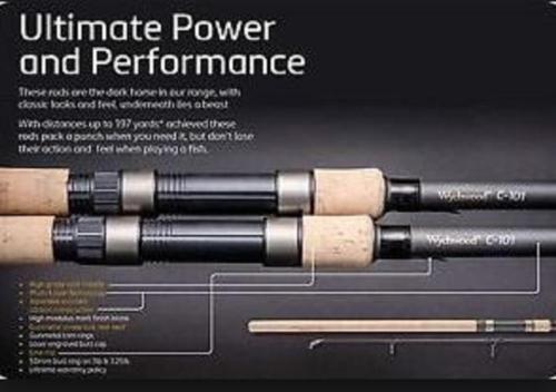 3-X-Wychwood-C-101-Carp-Rods-2-5lb-2-75lb-3-lb-or-3-25lb-50mm-butt-3lb-3-25lb