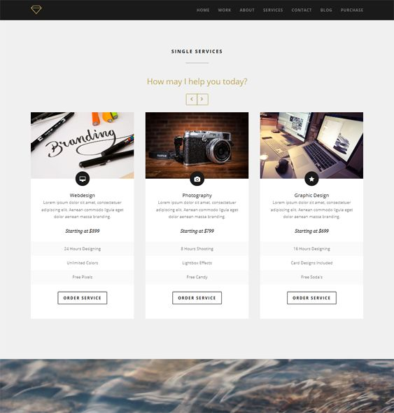 drupal 404 template - 9 best images about 9 of the best one page drupal themes