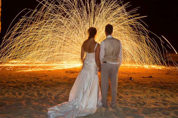 Thai weddings call for thai fire dancers