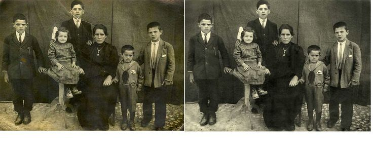 Photo Repair Wizards can fix rips & tears. Iron out wrinkles. Remove Stains. You got it we can make it disappear. Ask for a free quote --> http://www.fixingphotos.com