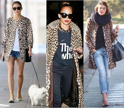 20364f5d7b how to wear leopard print coat casually