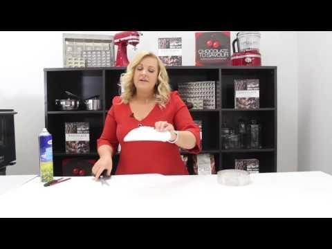 Preparing a Cake Ring with Kirsten Tibballs | Chocolate Book - YouTube