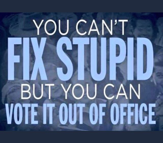 Time to get cracking. Enough of this and the complicity. 2018 mid-term elections... Straight blue tickets!
