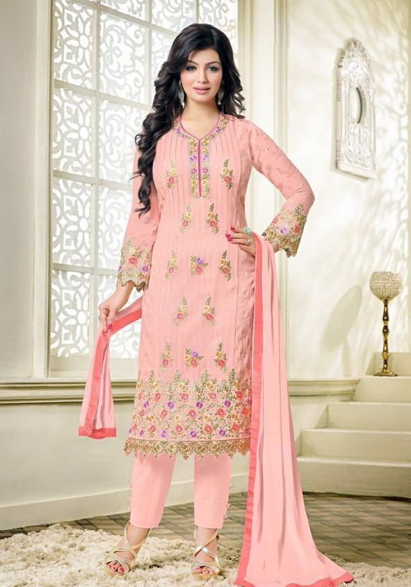 zisa vol-27 Georgette deisgner suits ( 6 pc set )