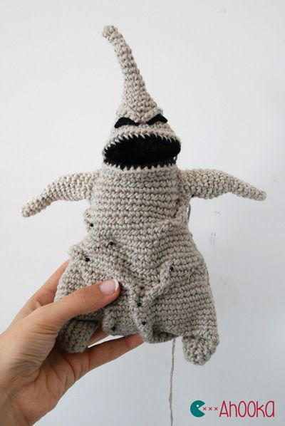 Amigurumi Oogie Boogie (the Nightmare Before Christmas) - FREE Crochet Pattern / Tutorial