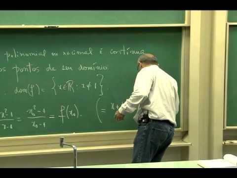 Cursos Unicamp: Cálculo 1 / aula 9 - Regras de Cálculo de Limite - parte 2