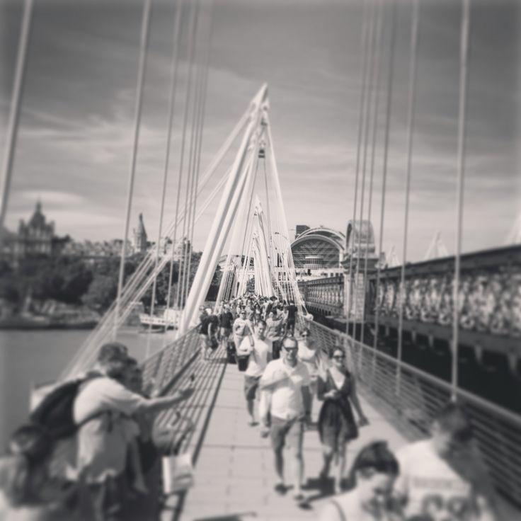 Waterloo foot bridge.