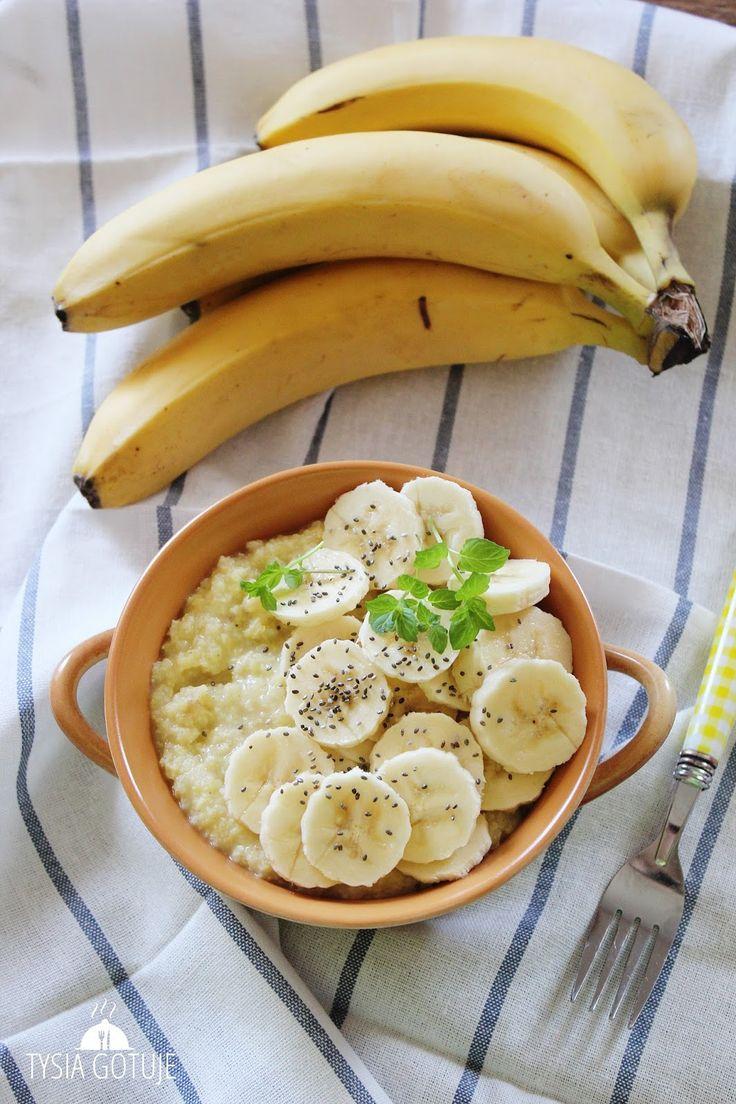 Kasza jaglana z bananem | Tysia Gotuje