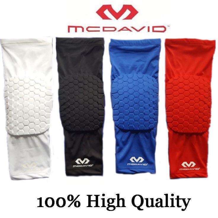 100% Famous Brand Mcdavid Basketball Leg Sleeve Breathable Sport Safety Kneepads Honeycomb Pad Bumper Barce Kneelet Protector