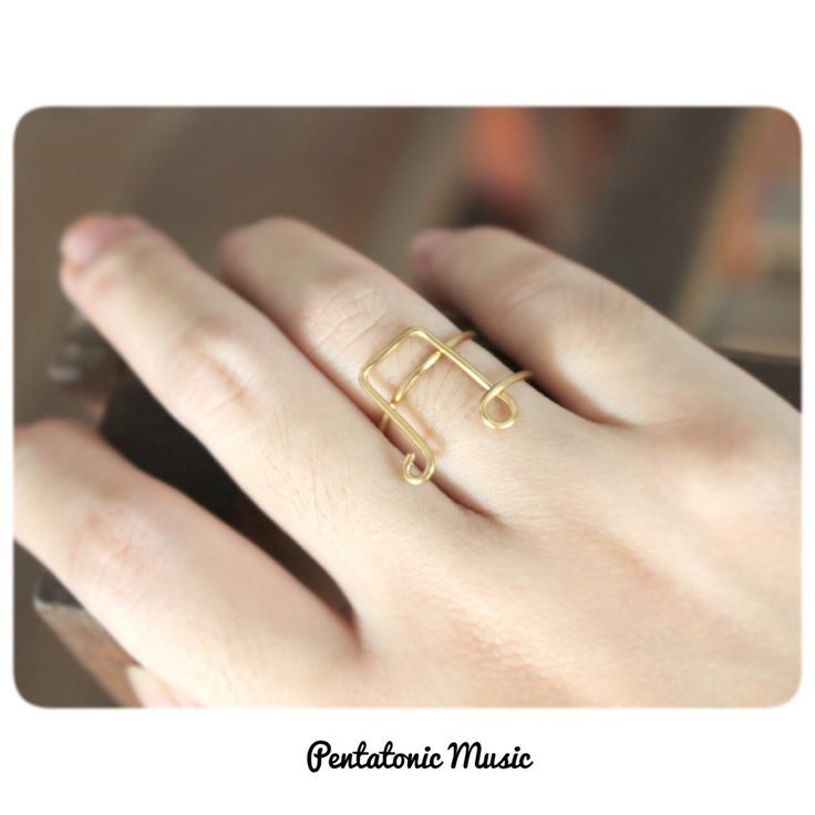 Music Ring  Price : 30.000 IDR Follow Instagram : pentatonicmusic