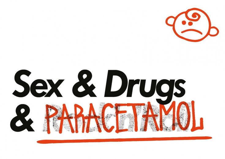 Sex& Drugs& Paracetamol | Edgar | Echte Postkarten online versenden | Edgar