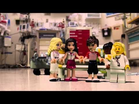 St. Louis Children's Hospital gets Lego-fied for Nurses Week 2015 - YouTube