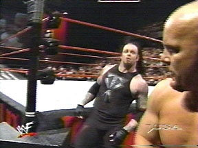 Raw Is War Mankind Gets The Hardcore Title For The First