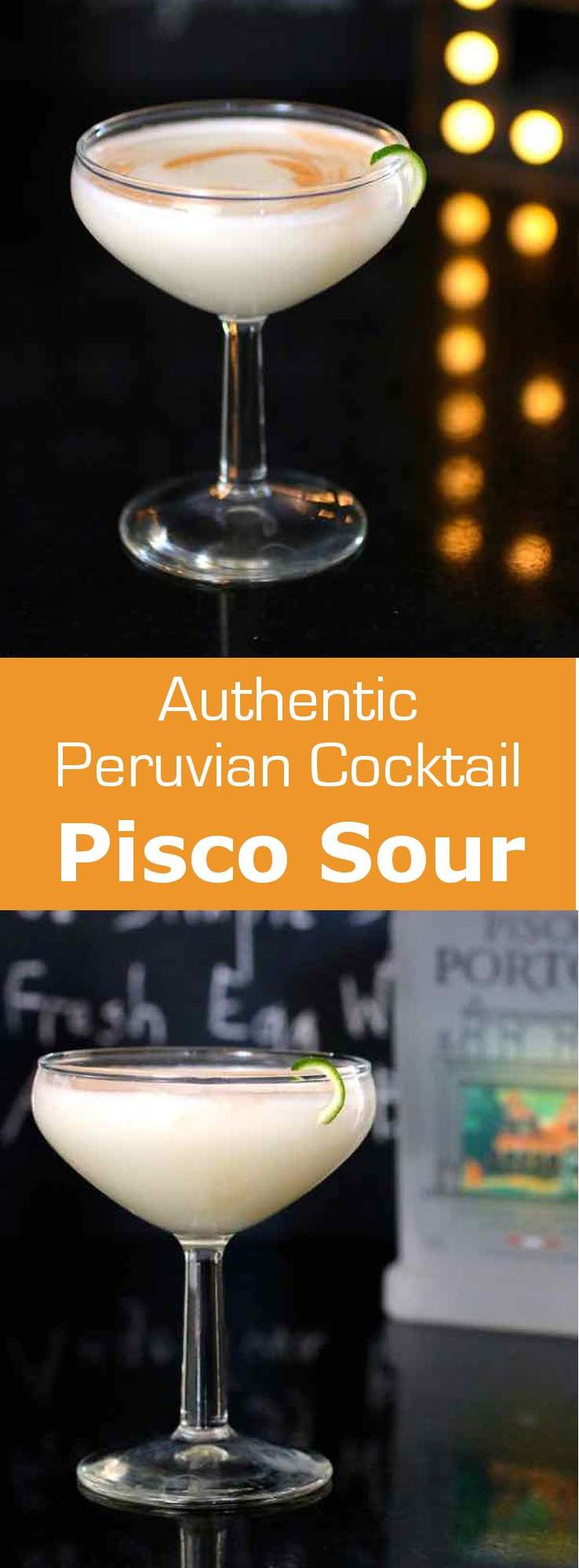Pisco sour is a traditional Peruvian cocktail based on pisco, lime juice, syrup that is topped with a frothy egg white foam and Angostura bitters.…