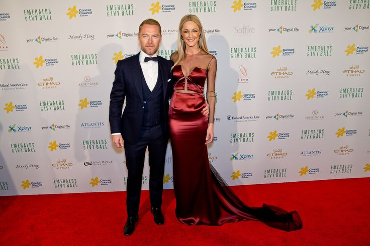Emeralds and Ivy Ball 2015 hosts, Ronan and Storm Keating