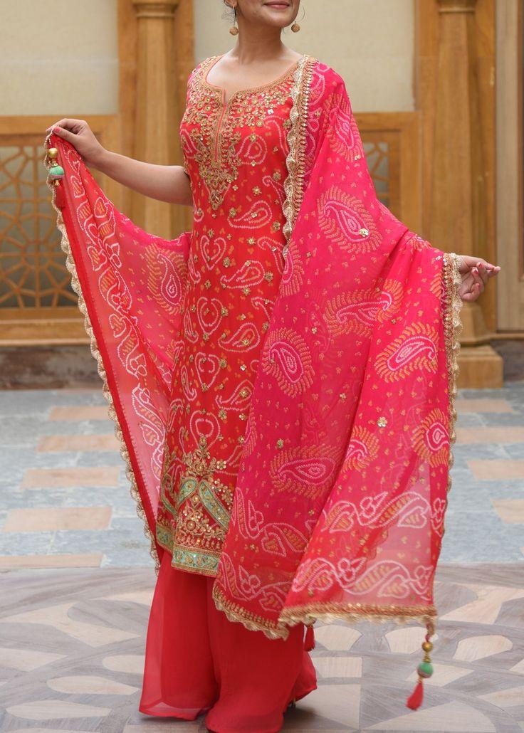 Red-Georgette-Salwar-Suit-VASOL023006