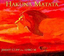 Hakuna Matata (song) - Wikipedia