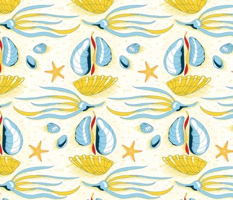 18 Best Seashell Patterns Images On Pinterest Beach