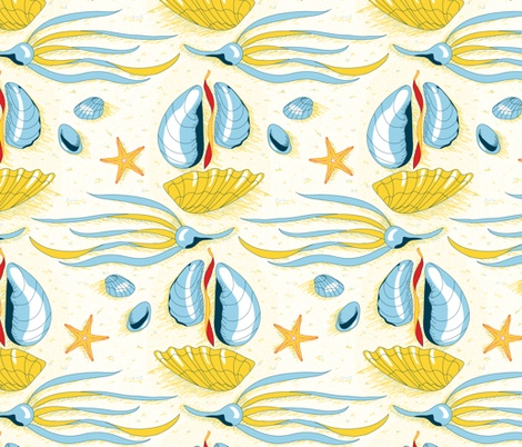 1000+ images about seashell patterns on Pinterest ...