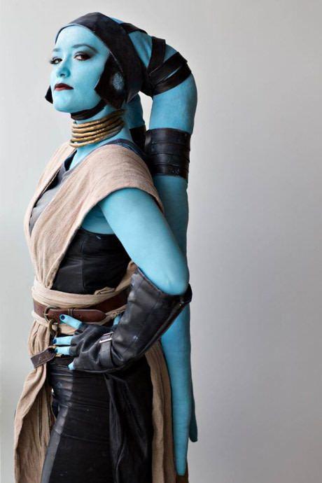 Twi'lek Jedi cosplay, Scarlett Costuming and Art
