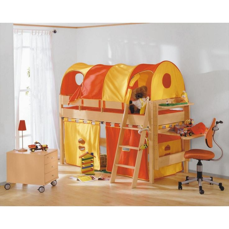 Die besten 25+ Hochbett paidi Ideen auf Pinterest Abenteuerbett - babyzimmer orange grn