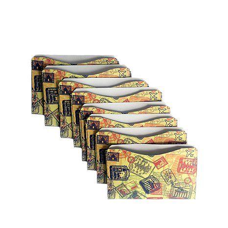PROTECT your $$ (aka: debit/credit cards) Q Samantha Brown RFID-Blocking 10-piece Sleeve Set