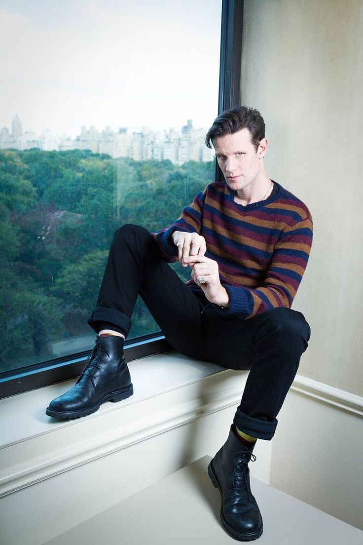 A Doctor a day/Matt Smith photographed at the JW Marriott in Manhattan