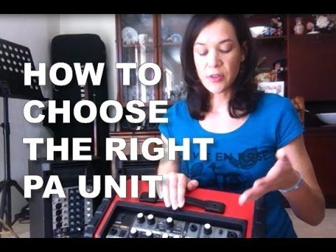 Find out how to choose the right PA unit when you're starting out as a singer (and save yourself a heap of cash by avoiding buying the wrong thing).  I'll show you what the difference between a PA unit and an Amp is and give you recommendations for equipment I personally use for my own singing gigs.   #singing #singingtips #howtosing