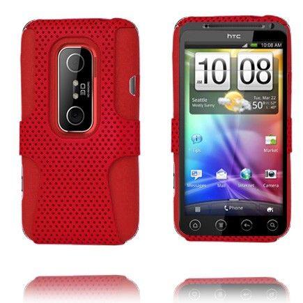 Neotronic (Punainen) HTC Evo 3D Silikonisuojus