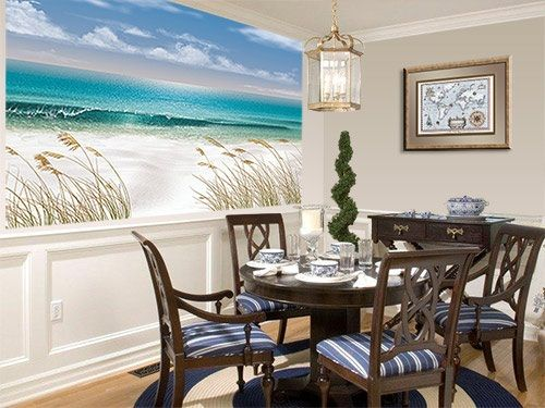 Beach Wall Murals Theme For Rooms Pinterest And