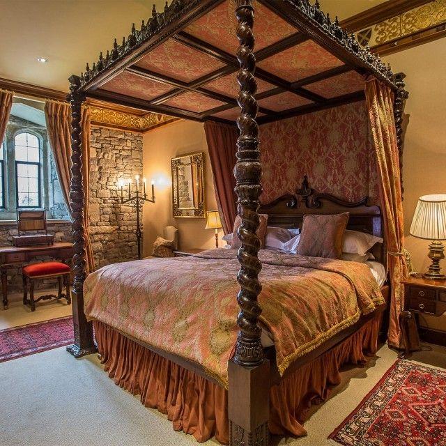 superior hotel suite in thornbury castle gloucestershire
