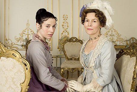"Sally Hawkins (Anne Elliot) and Alice Krige  (Lady Russell) - ""Persuasion"" (TV 2007)"