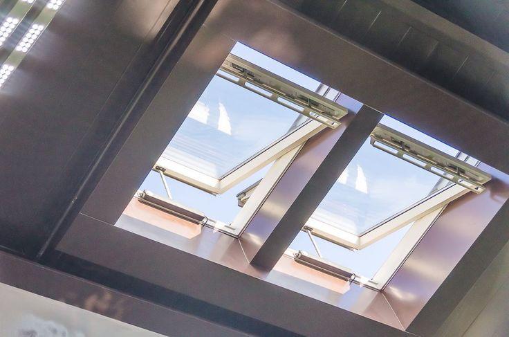 Монтаж системы автоматического открывания для 8-ми мансардных окон с датчиками дождя и возможностью программирования по расписанию. Реализованный проект в г. Челябинск.