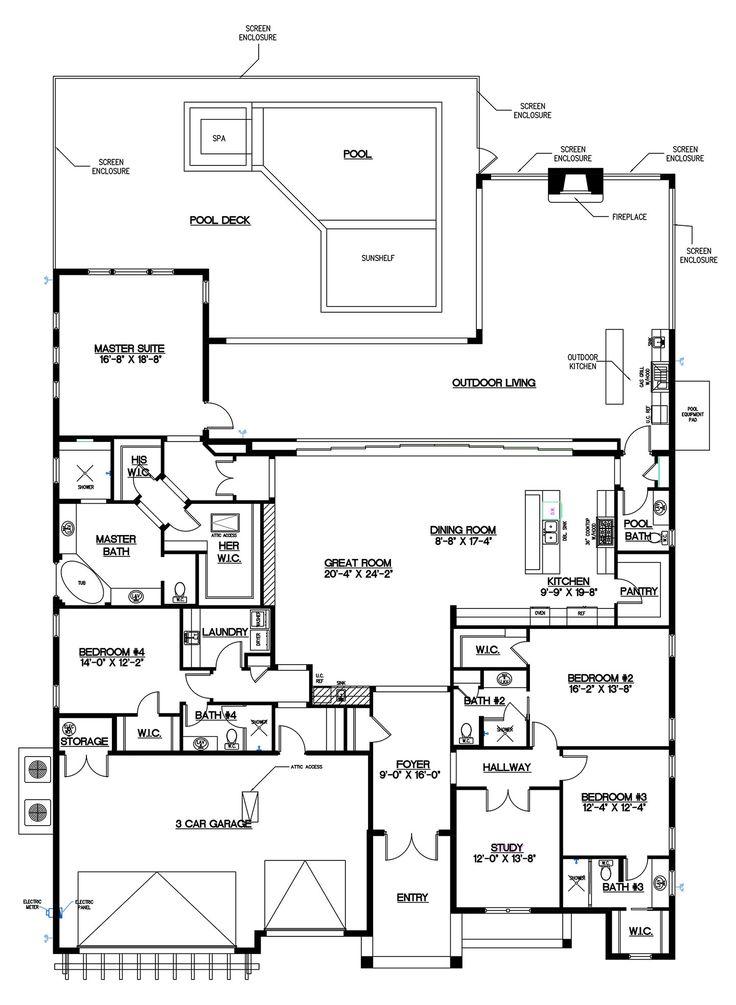 McGarvey Homes High Tide floor plan in Naples Reserve, Naples Florida new construction homes.