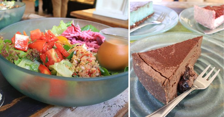 Alchemy. Amazing Raw Detox Vegan cafe in Ubud, Bali. Featured in the book Lost Guides Bali.