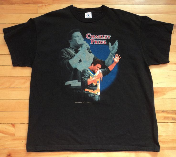Vintage Charley Pride Screen Play '97 XL T Shirt VTG by StreetwearAndVintage on Etsy