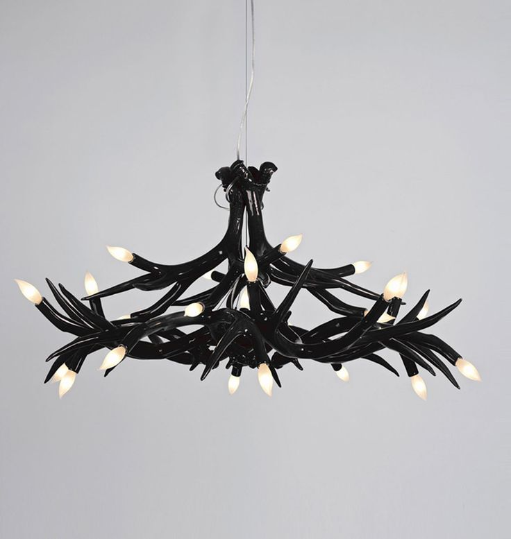 12 best how to fit the fantastic antler chandelier into various room excellent black antler chandelier aloadofball Images