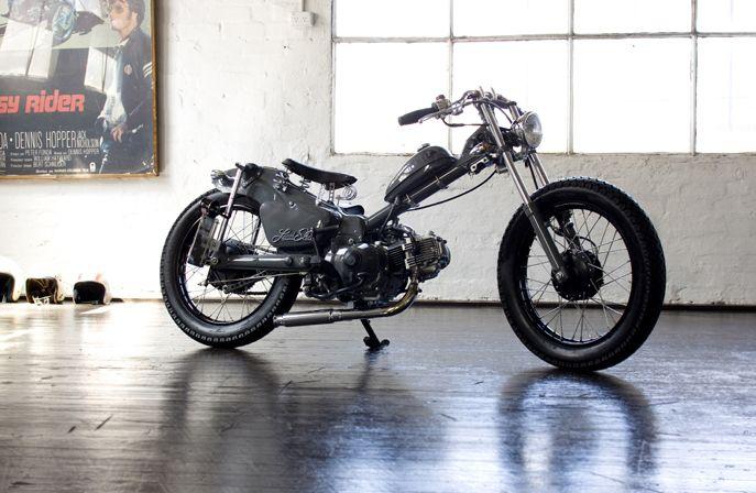 Great little Custom !  Honda CT110Customs - Pipeburn - Purveyors of Classic Motorcycles, Cafe Racers & Custom motorbikes