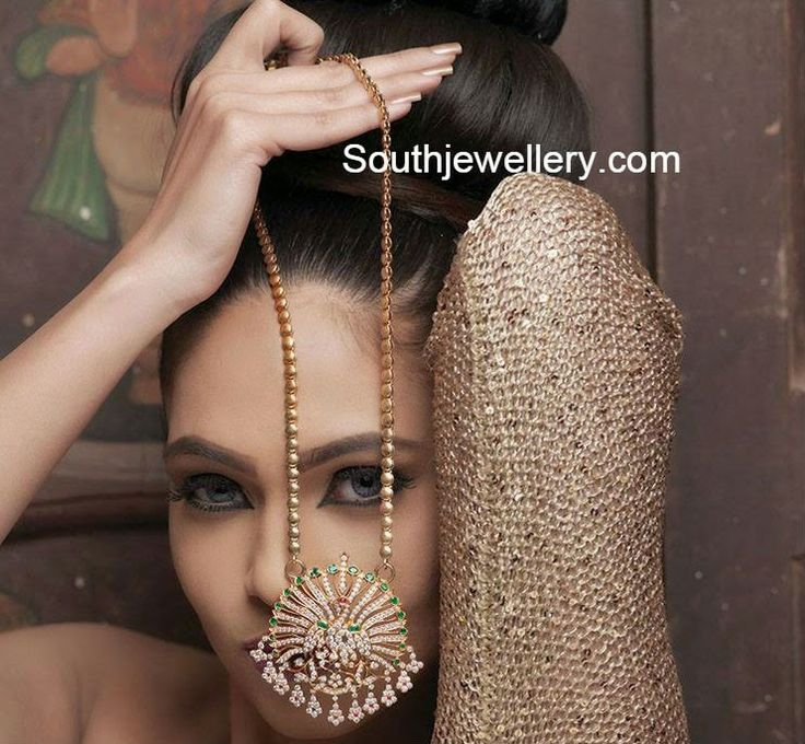 78 best Gold long chain images on Pinterest   India jewelry, Gold ...