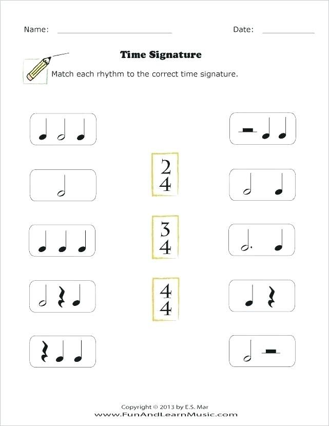 Beginner Piano Theory Worksheets For All Download And