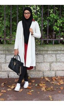 Collection de Capes et Cardigans - Vêtement fashion pour femme musulmane - Mayssa
